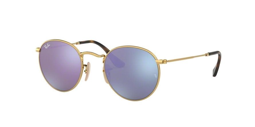 Ray-Ban 0RB3447N ROUND METAL / 00180
